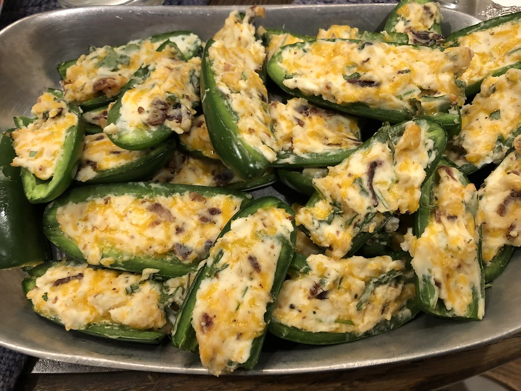Jalapeño Roasted Poppers