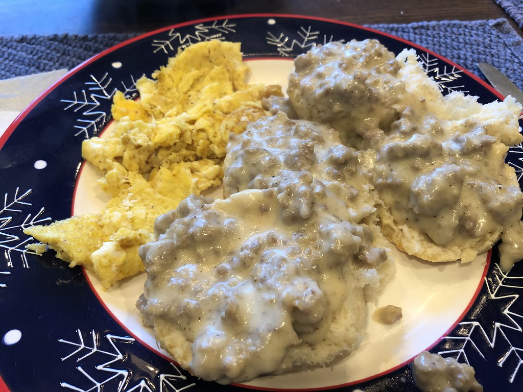 Sausage and Gravy Biscuits